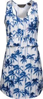 Maison Scotch Palm Tree Print Dress