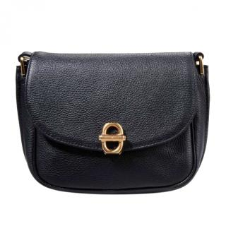 Emporio Armani Black Leather Bag