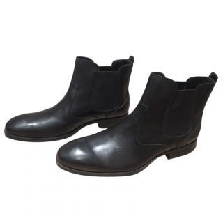 Cole Haan Men's Black Chelsea Ankle Boots