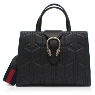 Gucci Black Dionysus Top Handle Bag