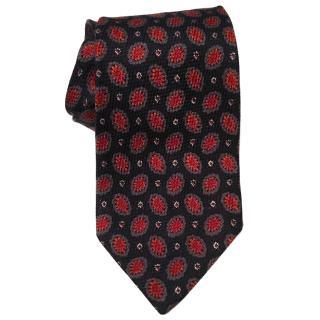 Ermenegildo Zegna Autumnal Red Tie