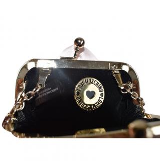 LOVE MOSCHINO Floral Chain Clutch