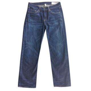 Rag and Bone Crop Straight Jeans