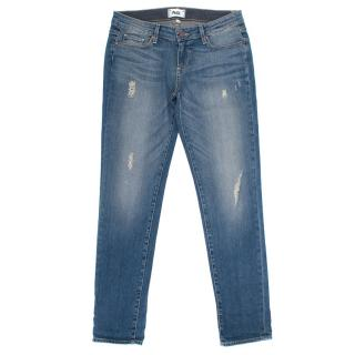 Paige Jimmy Jimmy Distressed Skinny Jeans