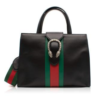 Gucci Dionysus black top handle/shoulder bag