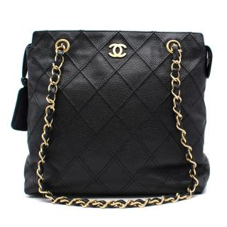 Chanel Small Chain Shopping Tote