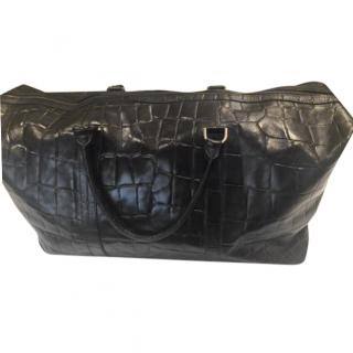 Mulberry Mock Croc Weekend Bag
