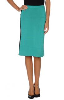 Jonathan Saunders Green Knee Length Skirt