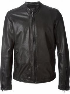 Diesel Superior Lagnum Goat Leather Biker Jacket