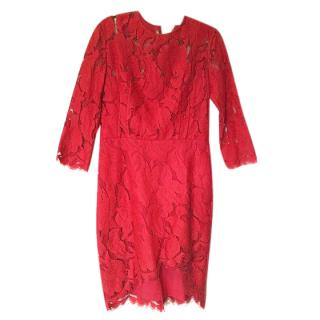 Lover Red Lace Dress