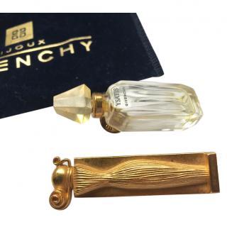 Givenchy Vintage ''Organza'' and ''Ysatis'' Brooches