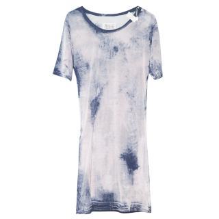 Martin Margiela Blue Tie dye Dress