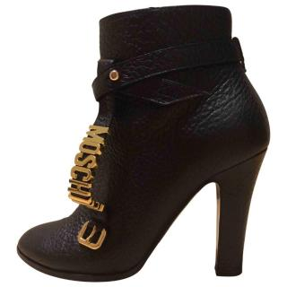 Moschino black Ankle Boots