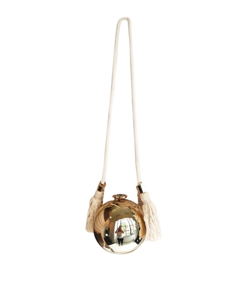 Chanel Vip Gold Pearl Bag