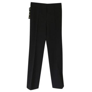 Louis Vuitton Black Tailored Trousers