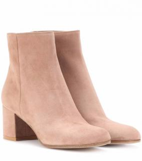 Gianvito rossi Margaux suede mid ankle boot