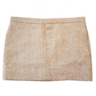 Chloe Wool Mini Skirt