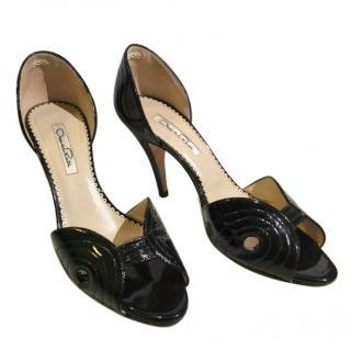 Oscar De La Rental Open Toe Shoes