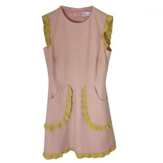 Red Valentino Two-Tone Dress