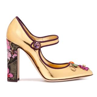 Dolce & Gabanna Mary Janes with Appliqu�s