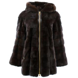 Lilly and Violetta Mink Fur Limited Edition Hood Jacket