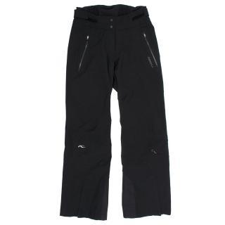 Kjus Black Formula Ski Pants