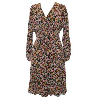 JOSEPH silk tea dress