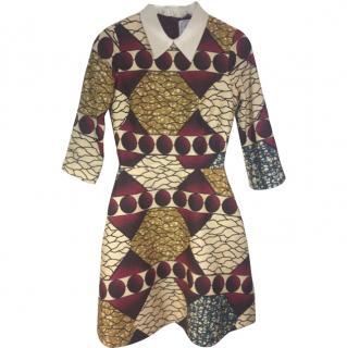 Stella Jean Flared Dress