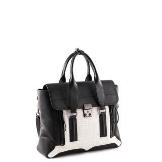 3.1 Phillip Lim Pashli Colorblock Medium Satchel Bag