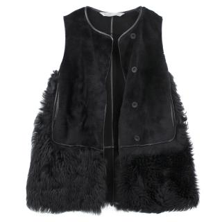 Reed Krakoff Black Fur Vest