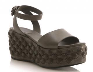 Bottega Veneta Catwalk Platform Studded Sandals
