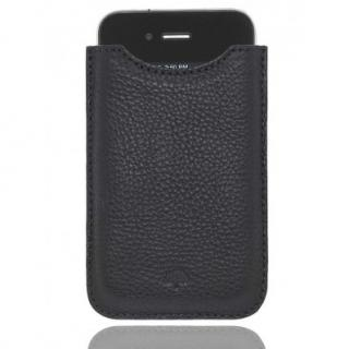 Mulberry Black Leather Phone Documents Pouch Case Holder