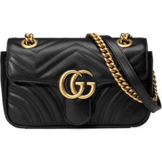 GUCCI GG Marmont Mini matelasse leather shoulder bag
