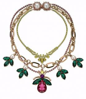 Gold plated MAWI necklace