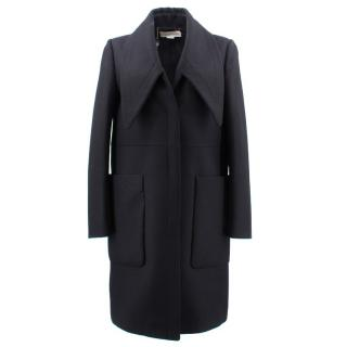 Stella Mccartney Black Wool Coat