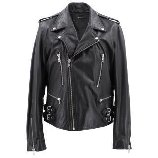The Kooples Goat Leather Jacket
