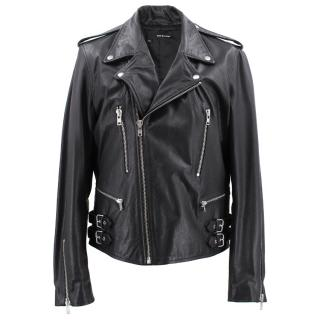 The Kooples Goat Leather Jacket