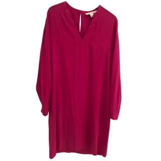 Diane Von Furstenberg pink classy dress