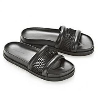 Alexander Wang X H&M Jac Leather/Mesh Moulded Sole Sandals