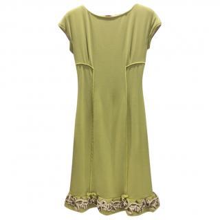 Ungaro Pistachio Dress