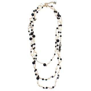 Chanel Pearl CC 100th Anniversary Necklace