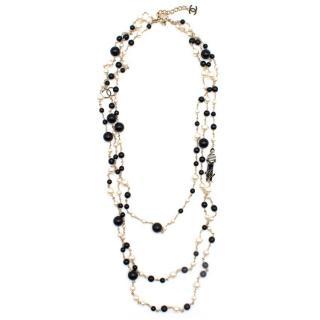 Chanel Pearl CC 100th Anniversary Necklace