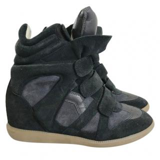 Isabel Marant Beckett Black Sneakers