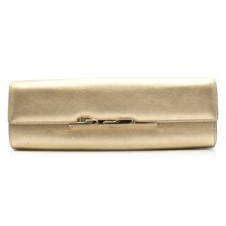 Cartier Panthere Art Deco Clutch in Gold