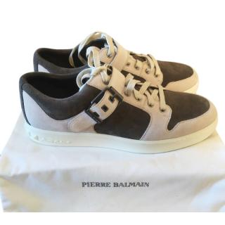 Pierre Balmain Grey/white trainers