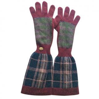 Chanel cashmere long gloves Edinburgh collection