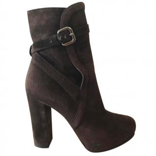 Prada Heeled Booties