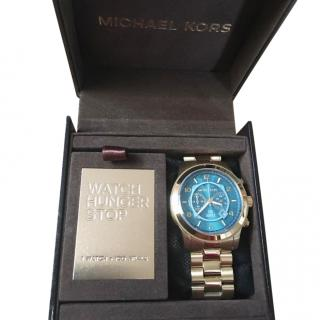 Michael kors limited edition mens watch gold color