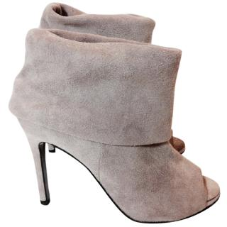 ACNE Dusty Pink Booties