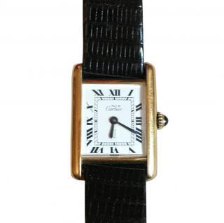 Must De Cartier Ladies' Tank Watch